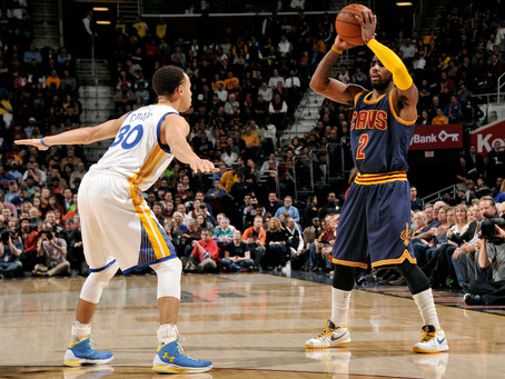 NBA Finals Matchup: Kyrie Irving vs. Stephen Curry