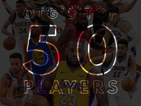 OTG's Top 50 NBA Players: 30-21
