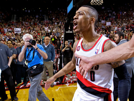 Lillard,Bench Key in Portland Victory to Stave off Elimination