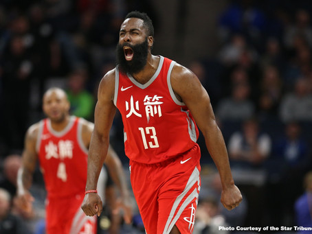 Another Historical Season for James Harden