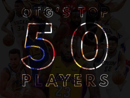 OTG's Top 50 NBA Players: 40-31