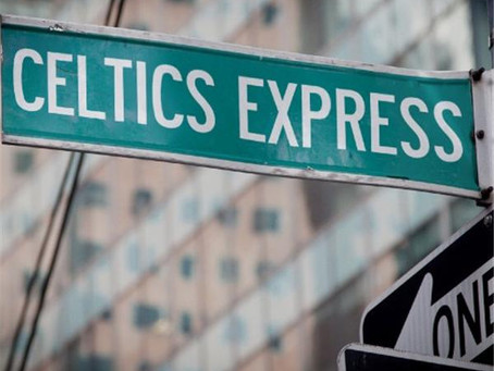 Celtics Express; Right Where They Shoulda Been