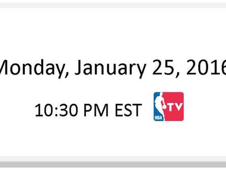 NBA Games of the Week (Jan 25 – Jan 31)