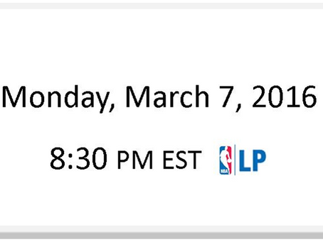 NBA Games of the Week (March 7 – March 13)