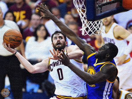 NBA Finals 2017: Kevin Love vs. Draymond Green