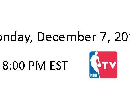 NBA Games of the Week (Dec 7 – Dec 13)