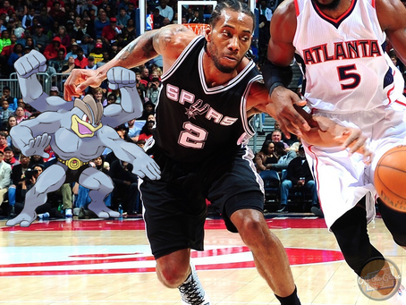The San Antonio Spurs as Pokémon