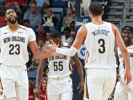 NBA Lineups of the Week: 1/19/18