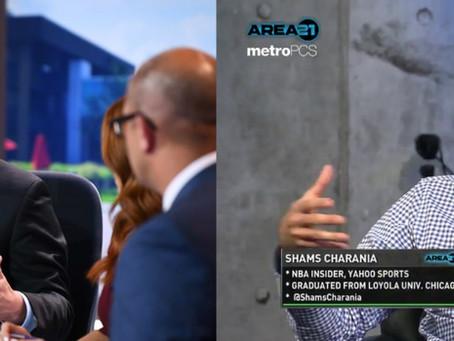 King of NBA News Breakers: Woj vs. Shams