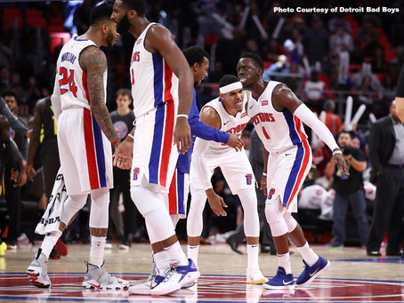 Surprise in the Motor City: The Pistons are Running Hot