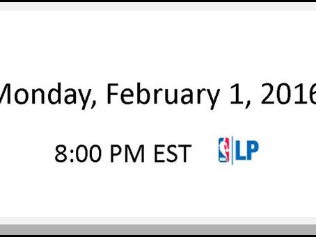 NBA Games of the Week (Feb 1 – Feb 7)