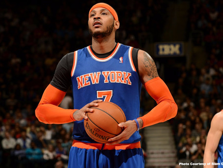 Is Carmelo Anthony Worthy of the Hall of Fame?