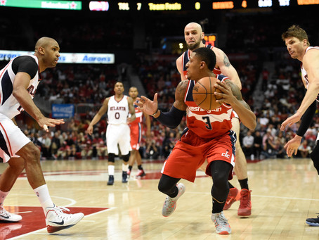 Top Five Players in the Hawks and Wizards Series