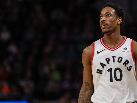 DeMar DeRozan Will Not Lead the Raptors to a Championship