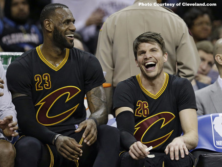 The King and Korver: How the Cavs Made Everything Right in the Land