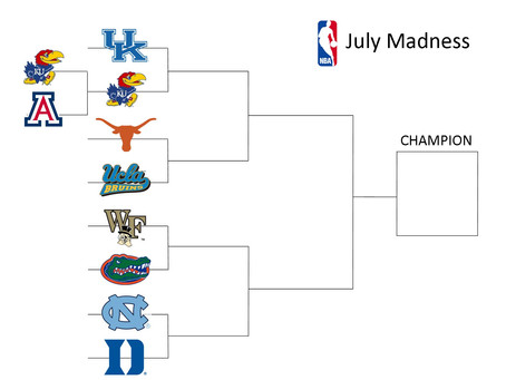 NBA March Madness in July