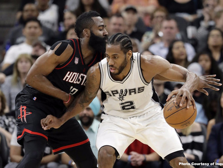 Leonard Leads Harden in Marquee Matchup