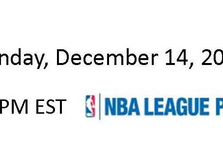 NBA Games of the Week (Dec 14 – Dec 20)