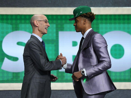 Talking Myself Into Liking the Celtics Draft Night