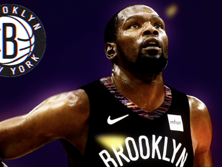 Kevin Durant to the Brooklyn Nets