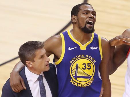 KD's Achilles Is the NBA's Sliding Door Moment