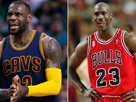 LeBron James and Michael Jordan: Chasing the Greatest of All Time