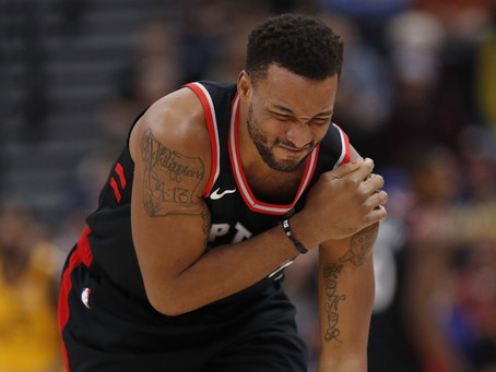 Norman Powell out Indefinitely After Hurting Shoulder