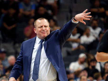 Not Feeling Minnesota: Thibs Out As Wolves Coach
