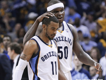 Greatest All-Time Starting 5: Memphis Grizzlies