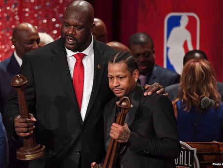 SHAQ & IVERSON IN THE ZONE
