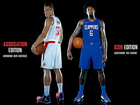 The Top 5 New Nike Uniforms in the NBA