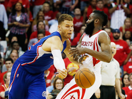 Top 5 Players in the Rockets and Clippers Series