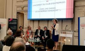 Clair & Net à l'honneur lors du lancement du Club des entreprises qui s'engagent