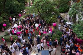 Les salariés de Clair & Net à la Garden Party de Sciences Po