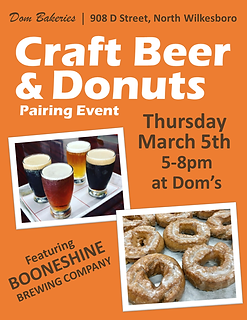 Craft Beer & Donut Pairing Event