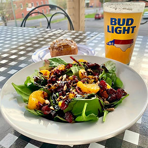 Spring Salad with beer.jpeg