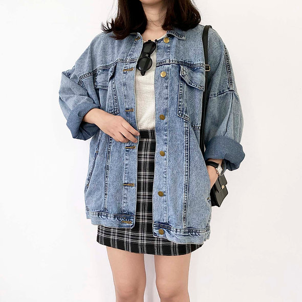 Her Goods Store Denim Jacket