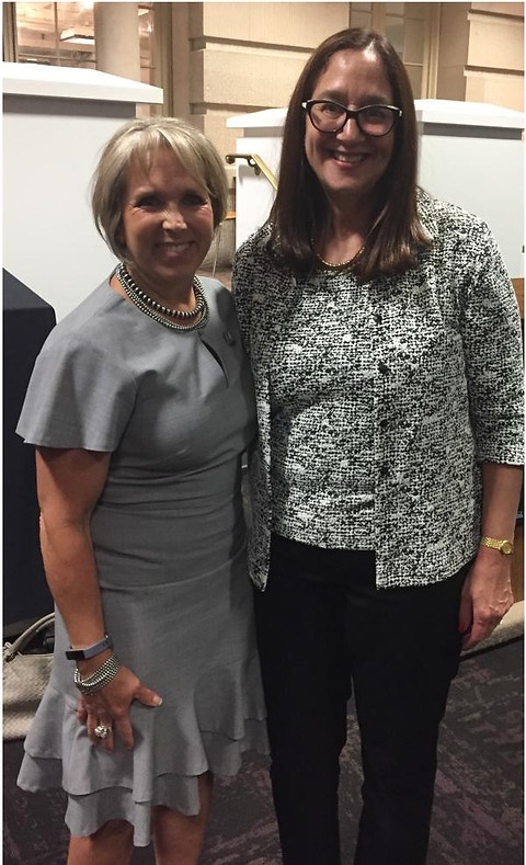 With Rep. Michelle Lujan-Grisham (D-NM)