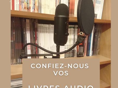 Des livres audio !