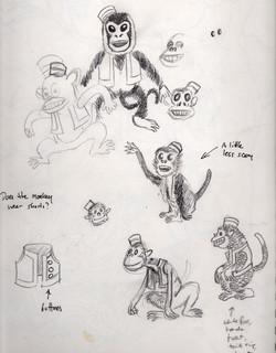 isabella sketchbook monkeys
