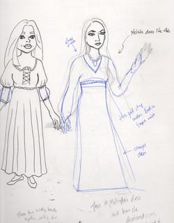 isabella melinda sketchbook