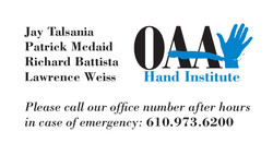 OAA Business Card