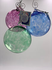Glass Blown Balls