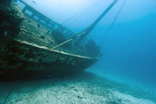 how to find treasure form the shipwreck in the sea