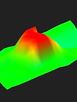 big chest scan example of tresure hunter 3d ground metal detector view