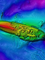 underwater shipweck finding marine survey scan example of tresure hunter 3d ground metal detector