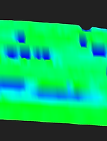 diamonds and gemstone finding scan example of tresure hunter 3d ground metal detector