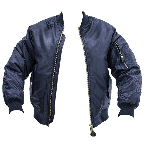 TWO SIMPLE Bomber Navy
