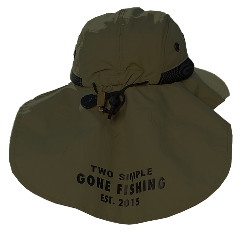 TWO SIMPLE FISHING HAT
