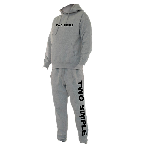 TWO SIMPLE SWEAT SUIT